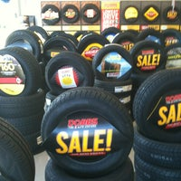 Photo taken at Dobbs Tire & Auto Centers Inc by Robert B. on 5/7/2013
