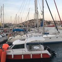 Photo taken at Ναυτικός Όμιλος Καβάλας by Jo 👑 G. on 5/20/2017
