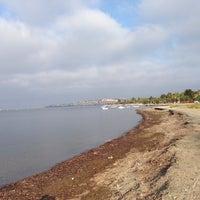Photo taken at Mavi Bayrak Plajı by Hande G. on 8/15/2014