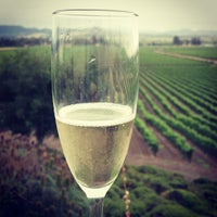 Photo taken at Gloria Ferrer Caves & Vineyards by Barry H. on 6/10/2013