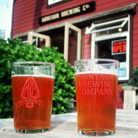 Photo taken at Montauk Brewing Company by Barry H. on 6/22/2013
