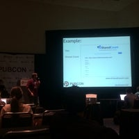 Photo taken at Pubcon New Orleans by Jessy W. on 3/20/2014