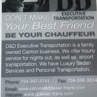 Photo taken at D and D Executive Transportation by scott a. on 2/20/2013