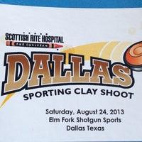 8/24/2013 tarihinde Mdcziyaretçi tarafından Elm Fork Shooting Range'de çekilen fotoğraf