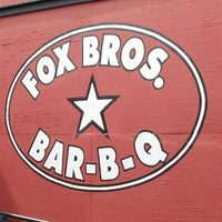 Photo taken at Fox Bros. Bar-B-Q by Lachlan R. on 9/2/2013