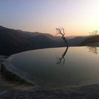 Photo taken at Hierve el Agua by Omar A. on 12/18/2012