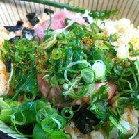 Photo taken at Oiden Bowl Bar by Nagisa on 9/23/2012