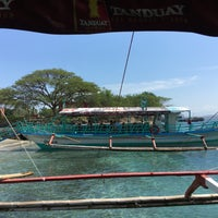Photo taken at Paradise Island Dock by Ainna Shella B. on 3/18/2016