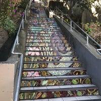 Photo taken at Hidden Garden Mosaic Steps by Teresa on 8/26/2017