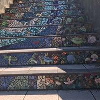 Photo taken at Hidden Garden Mosaic Steps by Teresa on 8/27/2017