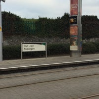 Photo taken at Stillorgan Luas by Leticia A. on 1/18/2017