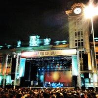 Photo taken at Praça Júlio Prestes by João Pedro C. on 5/19/2013