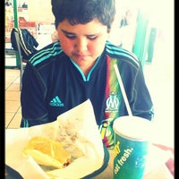 Photo taken at Subway by toker d. on 3/25/2013