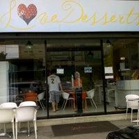 Photo taken at Love Desserts by Ivan M. on 9/16/2012