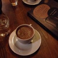 Photo taken at Don Kişot Kitap & Kahve by Rüveyda P. on 12/12/2014