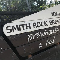 Photo taken at Smith Rock Brewing by Yvonne C. on 8/19/2017