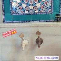Photo taken at Ferah Termal Hamam by Berfin I. on 9/10/2018