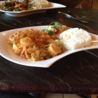 Photo taken at Thai Basil by Michiyo R. on 10/19/2012