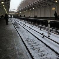 Photo taken at metro Fili by Danila L. on 12/18/2012