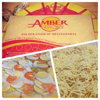 Photo taken at Amber Restaurant by Dominic B. on 1/15/2014
