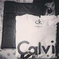 Photo taken at Calvin Klein by Dominic B. on 2/3/2014