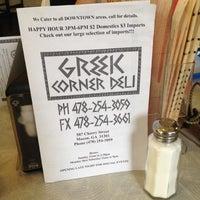 Photo taken at Greek Corner Deli by John B. on 7/23/2012