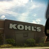 Photo taken at Kohl's Brandon by Sheri P. on 5/26/2012