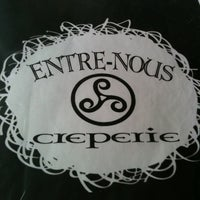 Photo taken at Entre-Nous Creperie by 제니 on 3/31/2012