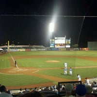 Photo taken at TicketReturn.com Field at Pelicans Ballpark by Chris I. on 8/23/2012