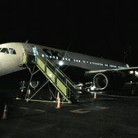 Photo taken at Aeropuerto El Loa (CJC) by Hector V. on 3/8/2012