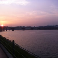 Photo taken at Han River by Soo Jin  Suzie C. on 6/4/2012