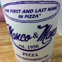 Photo taken at Manco & Manco Pizza by Jillian D. on 4/20/2012