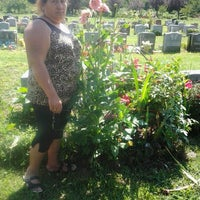 Photo taken at Lutheran-All Faiths Cemetery by Rube S. on 9/9/2012