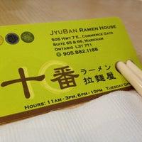 Photo taken at Jyuban Ramen House 十番拉麵屋 by Zee Kid on 7/27/2012