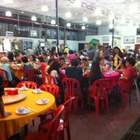 Photo taken at LaLa Chong Seafood Restaurant by Michael O. on 6/3/2012