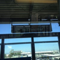Photo taken at SFO AirTrain Station by Ian M. on 6/11/2012