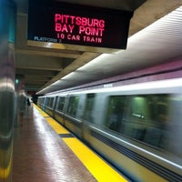 Photo taken at Montgomery St. BART Station by Tyler H. on 2/15/2012