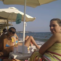 Photo taken at Beach Loca Bar by Alexandros M. on 8/16/2012