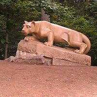 Photo taken at Nittany Lion Shrine by Chris K. on 7/13/2012