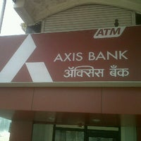 Photo taken at Axis bank atm by Añu R. on 5/12/2012