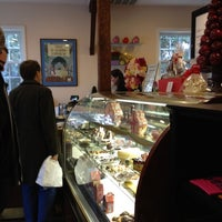 Photo taken at Belgique Chocolatier by Cathy K. on 2/10/2012