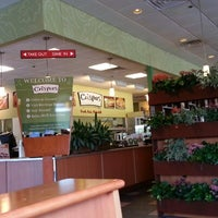 Photo taken at Crispers Fresh Salads, Soups and Sandwiches by Eric G. on 8/11/2012