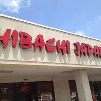 Photo taken at Hibachi Japan by Carol W. on 7/20/2012