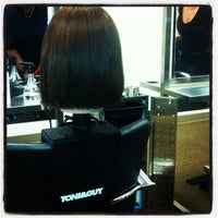 Photo taken at TONI&GUY Hairdressing Academy by Angela G. on 4/5/2012