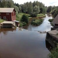 Photo taken at Tönnön museosilta by Aapo R. on 7/12/2012