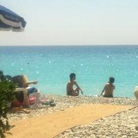 รูปภาพถ่ายที่ Promenade des Anglais โดย Elena A. เมื่อ 6/26/2012