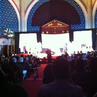 Photo taken at Temple Emanu-El by Carlos E. on 4/29/2012