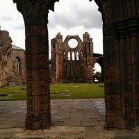 Photo taken at Elgin Cathedral by Johanna on 6/19/2012