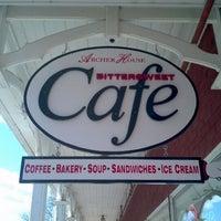 Photo taken at Bittersweet Eatery by John T. on 4/10/2012