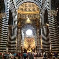 Photo taken at Duomo di Siena by Daniel on 6/11/2012